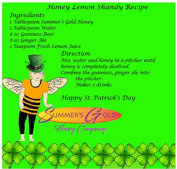 Honey Lemon Shandy