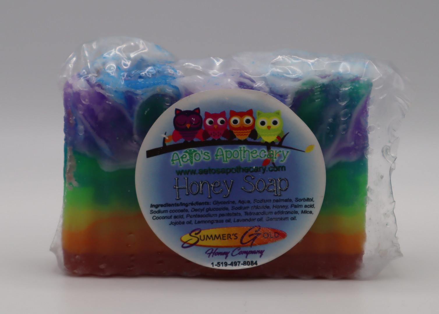 Rainbow Rectangle Soap
