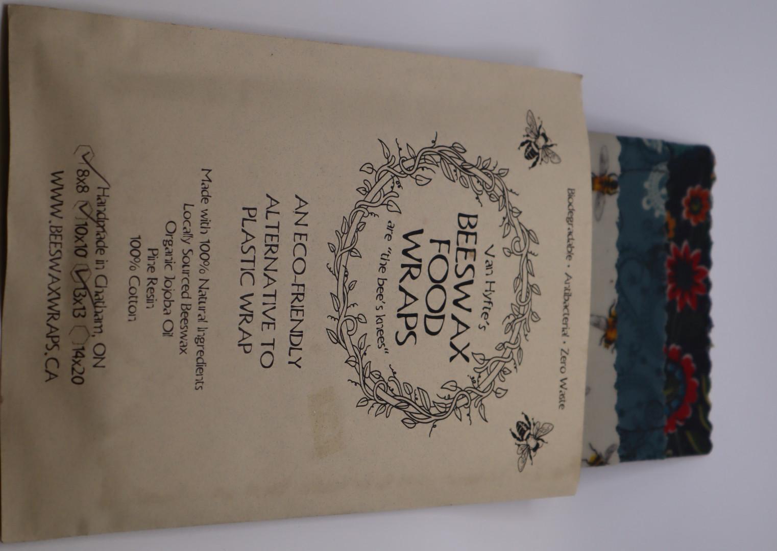 Van Hyfte's Beeswax Food Wraps