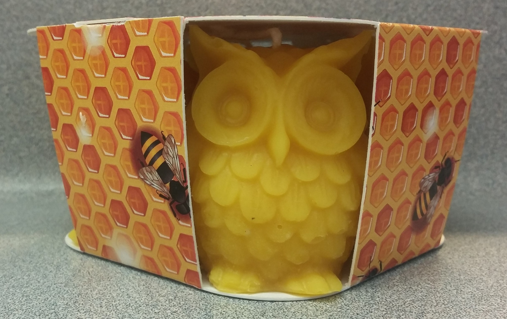 4 Package of Owl Candle 120 grams